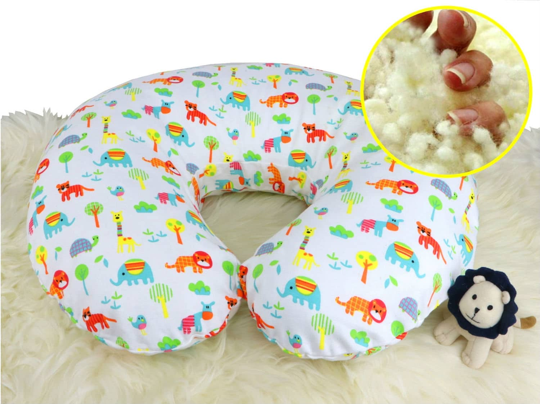 Picture of: 100 Natural Wool Nursing Pillow Positioner Organic Comfort Market
