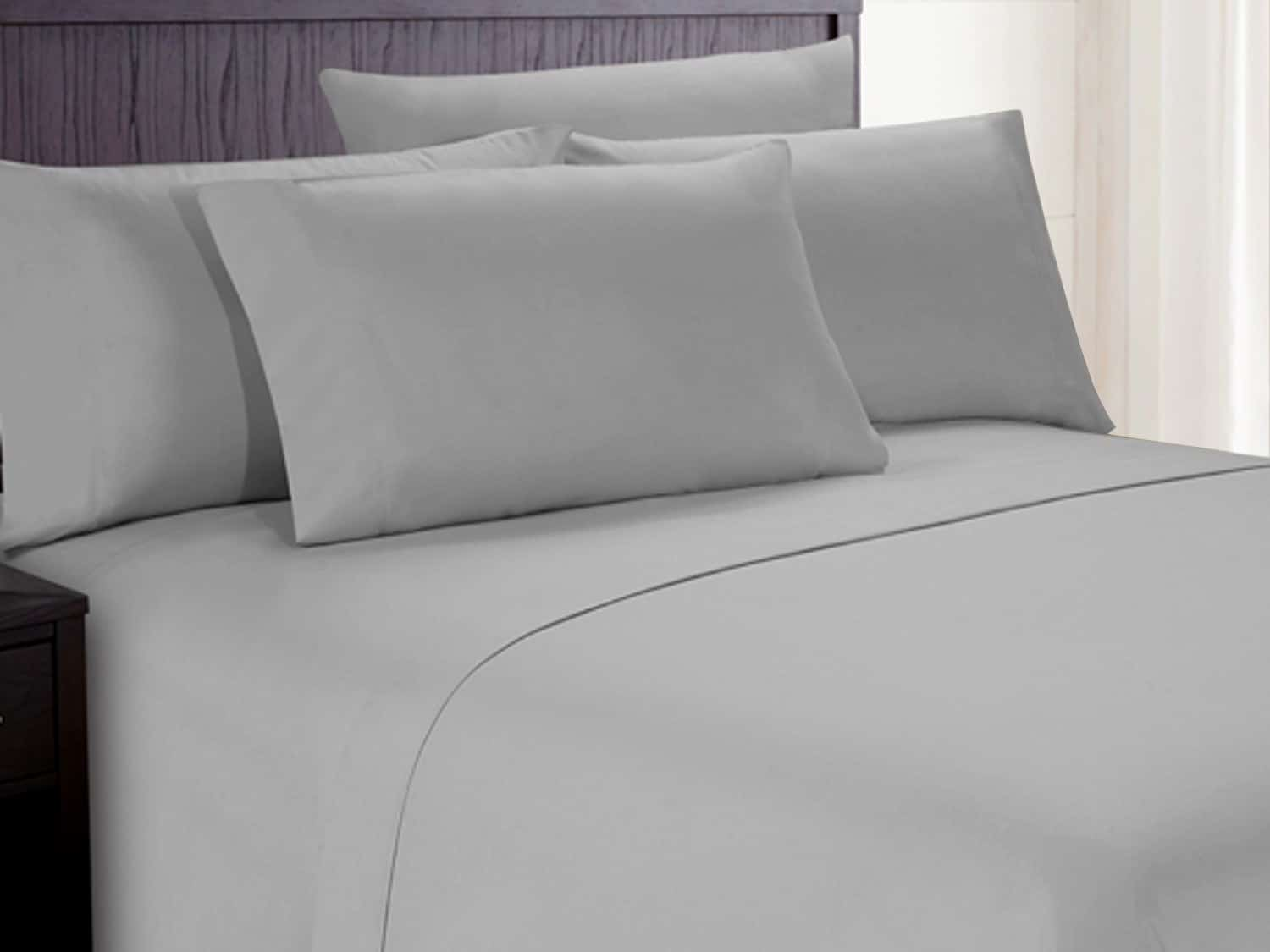 Picture of: Deep Pocket 100 Cotton Sheets With Corner Straps
