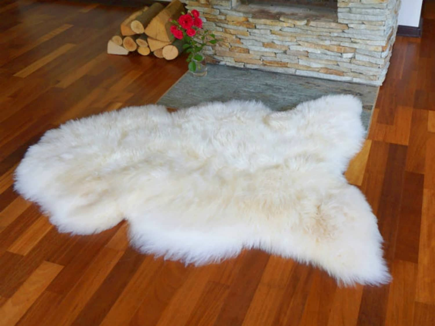 Genuine Sheepskin Rugs Large. Real