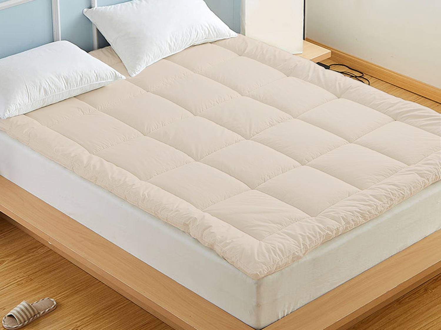 Mattress Cover.Wool Mattress Topper Lambswool Pad